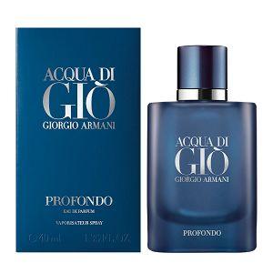 Acqua Di Gio Profondo Masculino Eau de Parfum 40ml