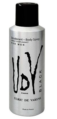 Desodorante UDV Black Masculino 200ml