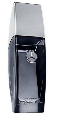 Mercedes Benz Vip Club Black Leather For Men 50ml - Perfume Masculino - Eau De Toilette